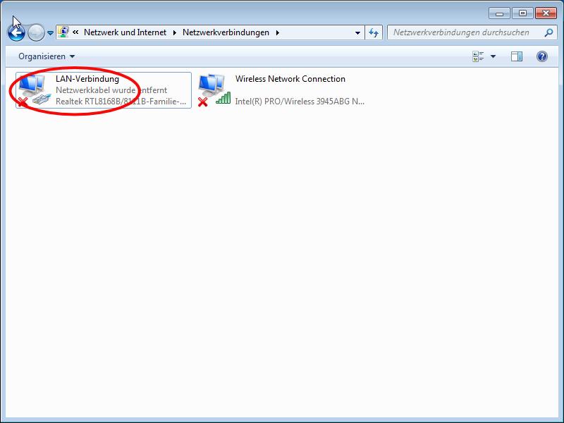 Windows 7 Client-Konfiguration Wohnheim-Netzwerk Studentenwerk ...